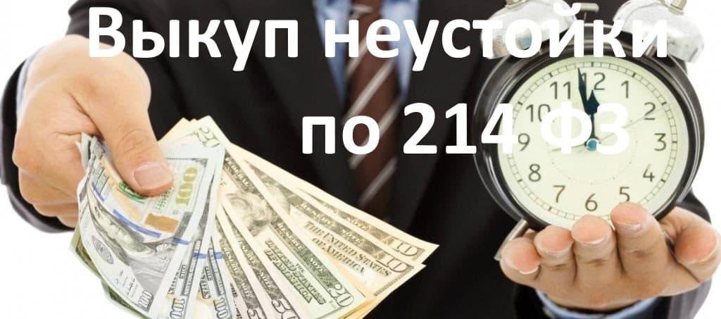 выкуп долга, выкуп неустойки по 214 фЗ