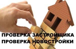 Проверка Застройщика новостройки.