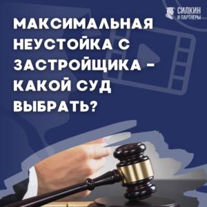 Максимальная неустойка с Застройщика – Какой суд выбрать? (видео)